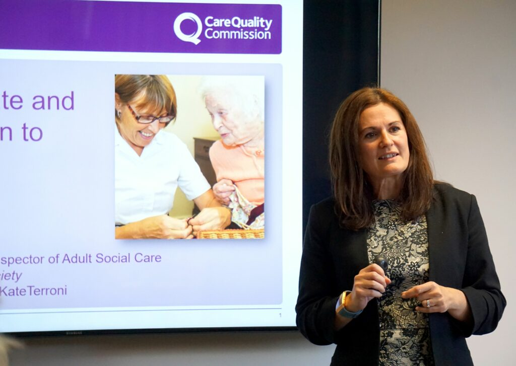 The Outstanding Society Conference, Kate Terroni, CEO CQC