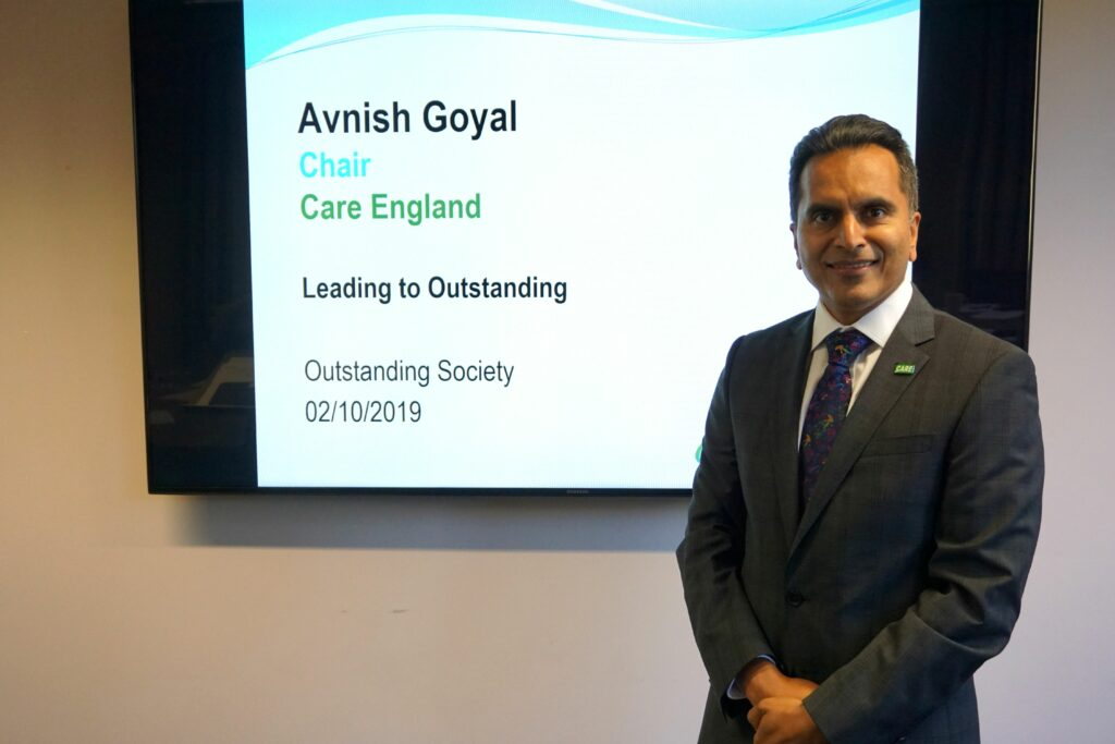 The Outstanding Society Conference, Avnish Goya, Chair of Care Englandl